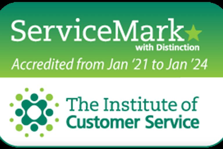 Drayton Motors KIA have been awarded Service Mark with Distinction.