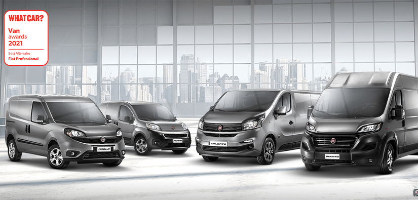 Fiat Professional take home two awards at the What Car? Van Awards!