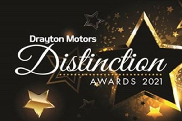 Drayton Motors Distinction Awards Saturday 30th January 2021.