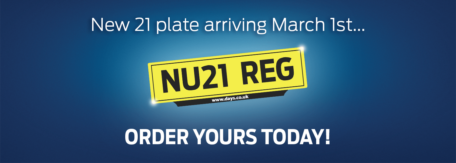 New 21 plate