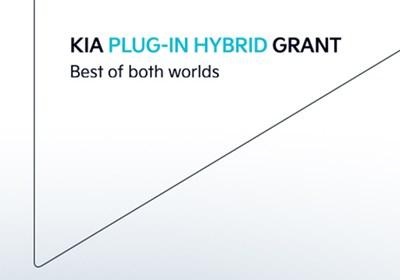 The KIA Plug-In Hybrid Grant