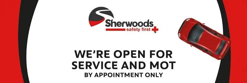 open for service and mot
