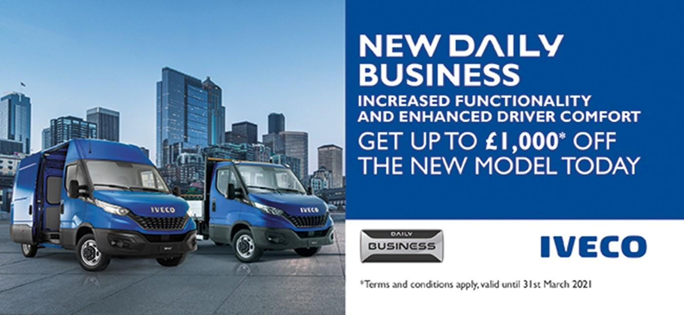 Iveco New Daily Business Edition