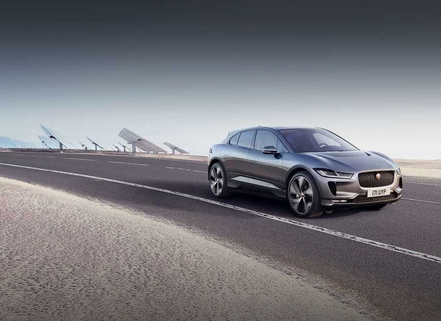 Great savings on pre-registered I-PACE models