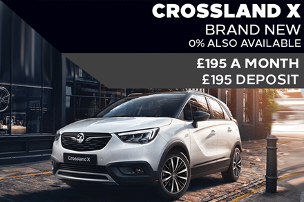 Brand New Vauxhall Crossland X Griffin - £195 A Month | £195 Deposit