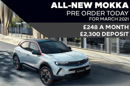 All-New Vauxhall Mokka - £248 A Month | £2,300 Deposit