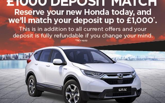 Honda CR-V Hybrid Offers