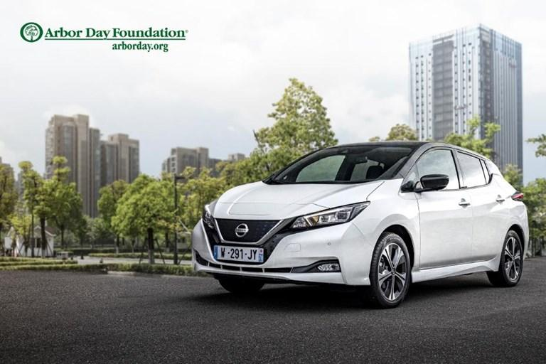 Nissan and the Arbor Day Foundation join forces to plant 20,000 trees in Europe in celebration of 10 years of Nissan LEA