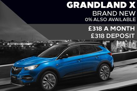 Brand New Vauxhall Grandland X - £318 A Month | £318 Deposit