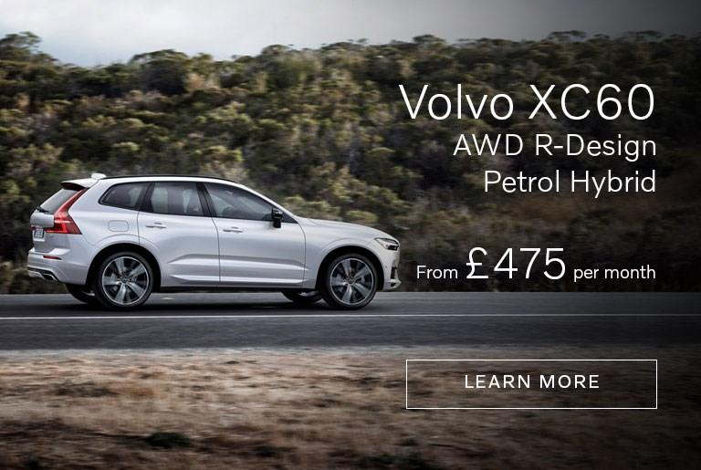 XC60 R-Design AWD Hybrid from £475 per month