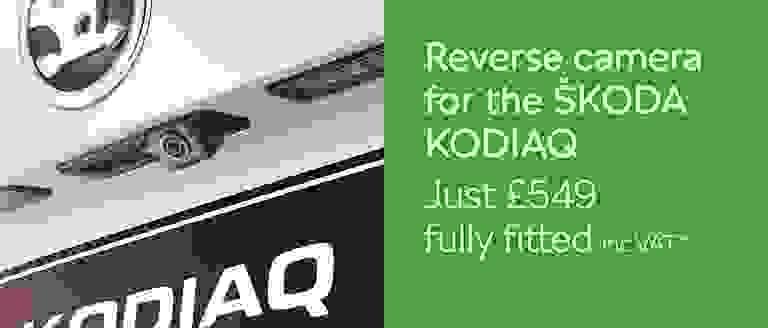 Reverse Camera For ŠKODA KODIAQ