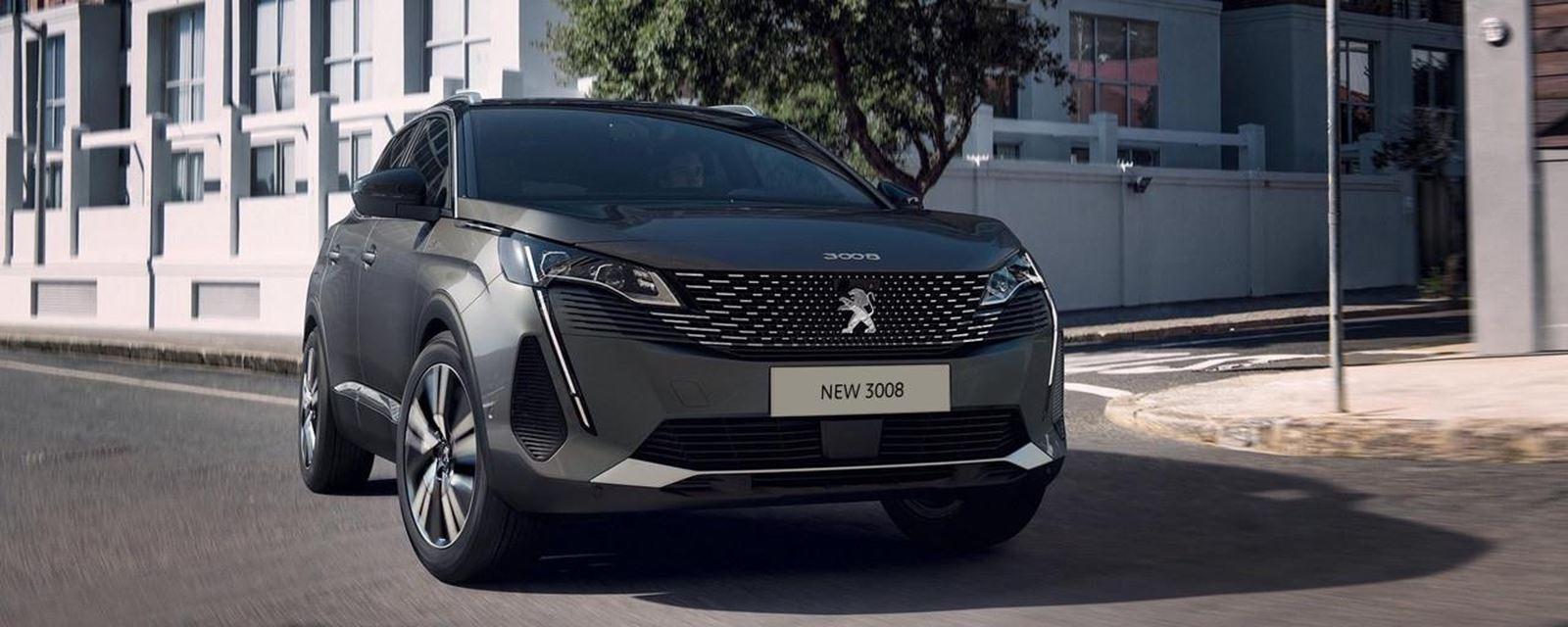 New Peugeot 3008 SUV