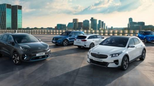 Kia Electric Range - Plans for 7 New Electric Models in 7 Years