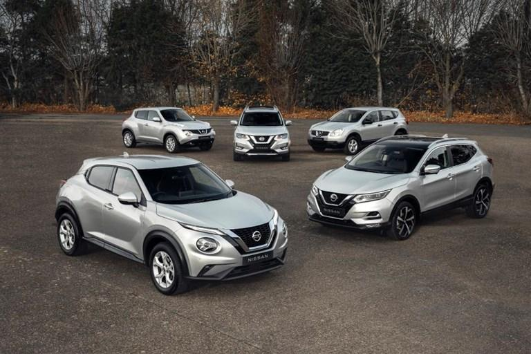 Nissan's crossovers 'go platinum' with one million UK sales