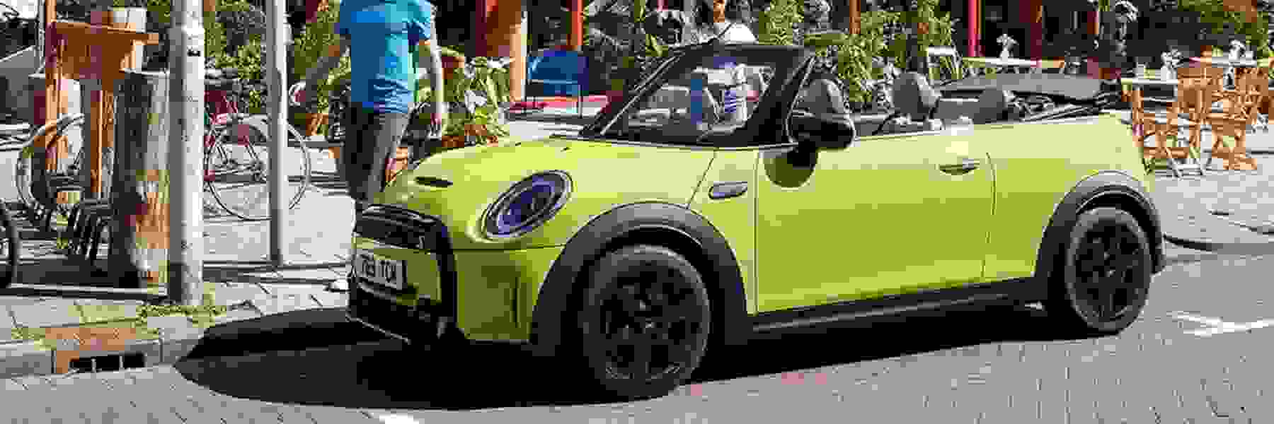 THE UPDATED MINI CONVERTIBLE