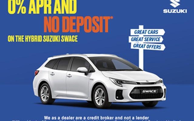 Suzuki Swace at 0% APR