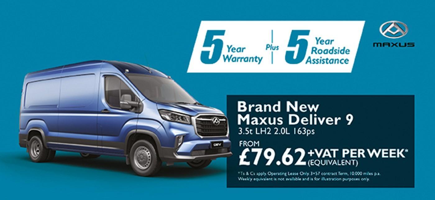 Brand New Maxus Deliver 9