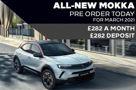 All-New Vauxhall Mokka - £282 A Month | £282 Deposit