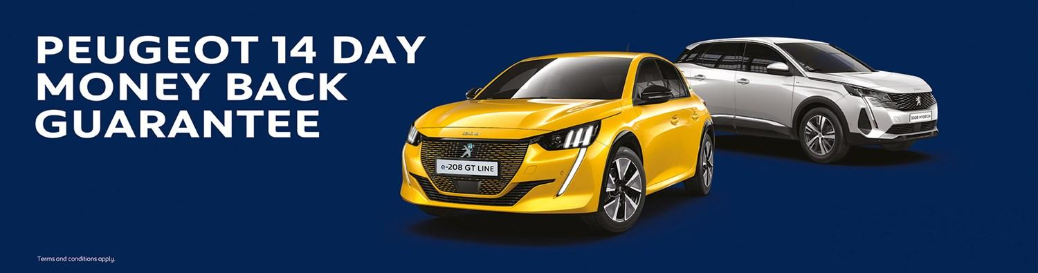 Peugeot 14 Day Money-back Guarantee