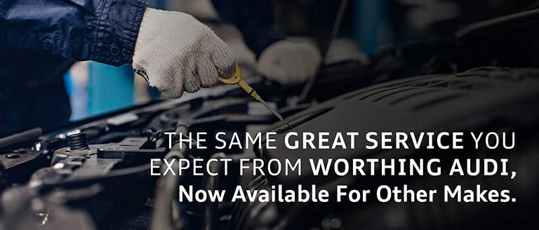 All Makes Servicing & MOT at Audi Worthing
