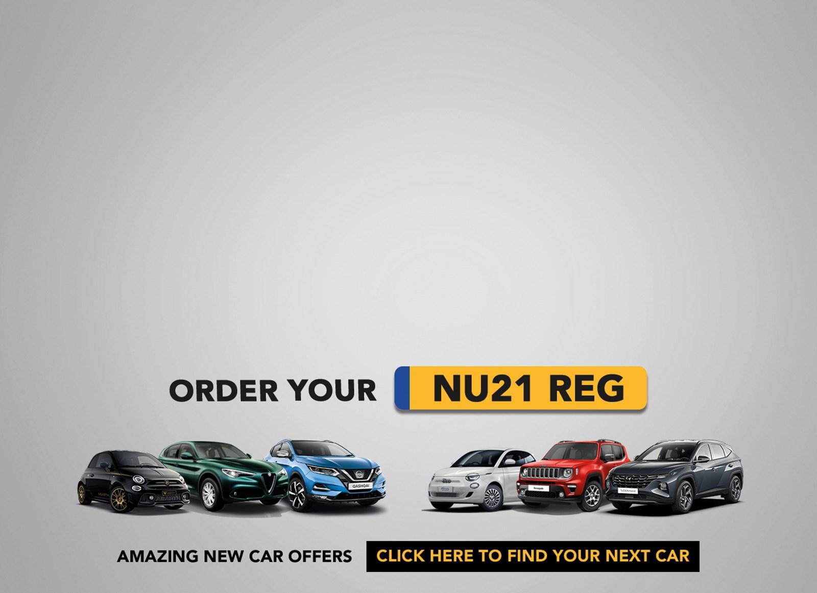 Order Your New 21 Reg