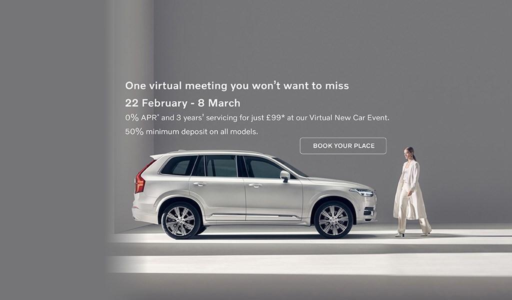 0% APR Volvo Virtual New Car Event