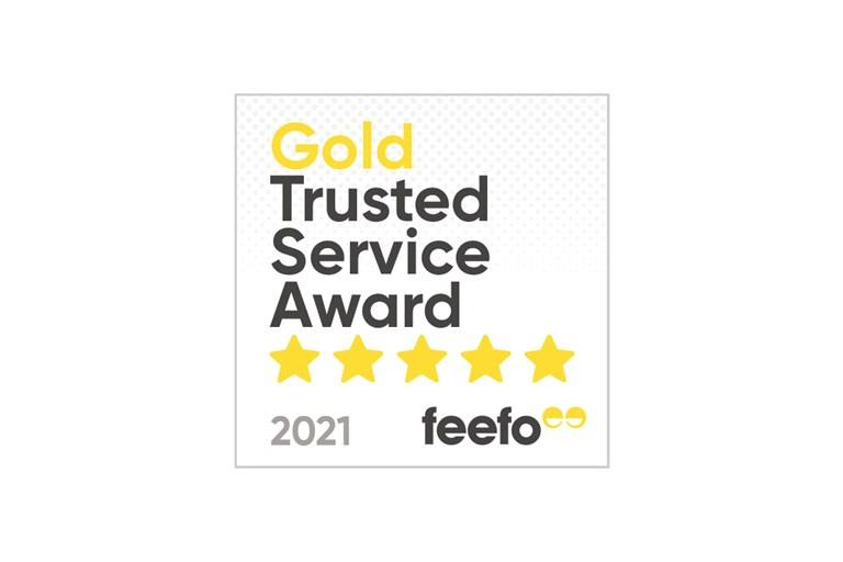 Hyundai Motor UK awarded Feefo Gold Trusted Service Award