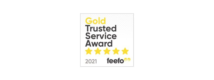 Hyundai Motor UK awarded Feefo Gold Trusted Service Award