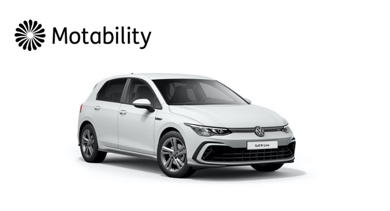 Motability: Golf R-line from NIL advance payment