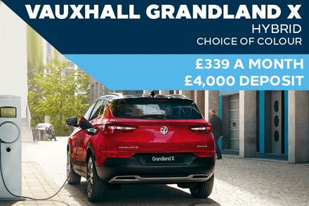 Brand New Vauxhall Grandland X Hybrid - £339 A Month