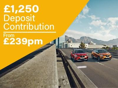Renault - All New Captur - Offers