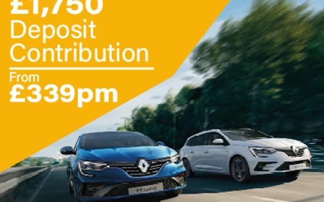 Renault Megane Sport Tourer Offer