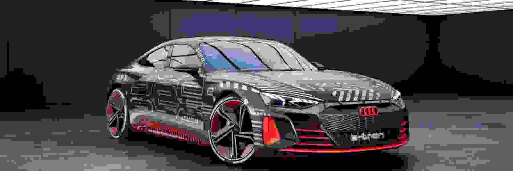 2021 A Great Year in the Making: Audi e-tron GT Prototype