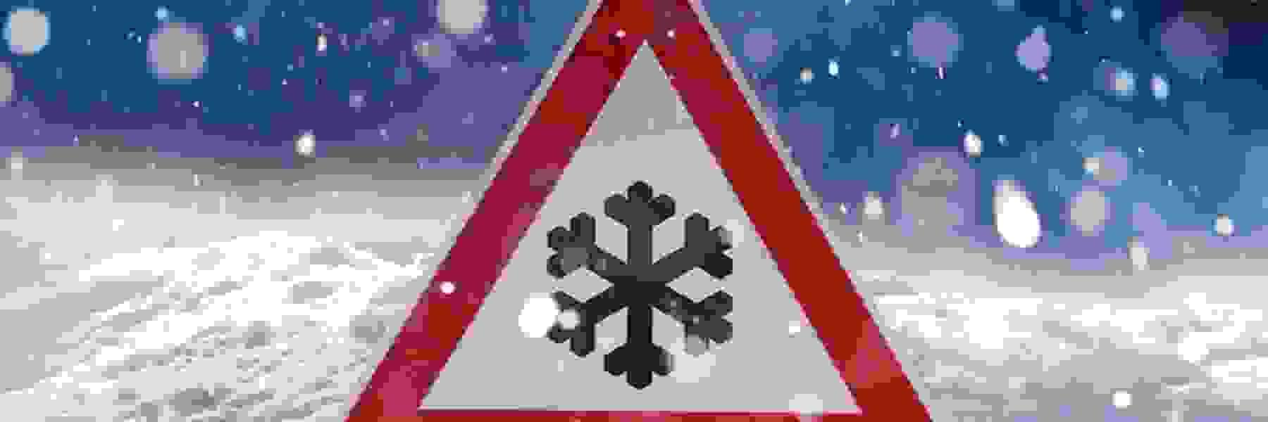 Advice for safe driving on snow and ice