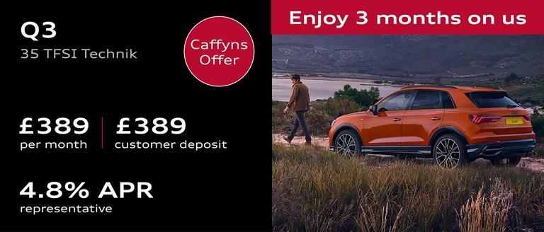 Caffyns Offer - Audi Q3 Finance Offer