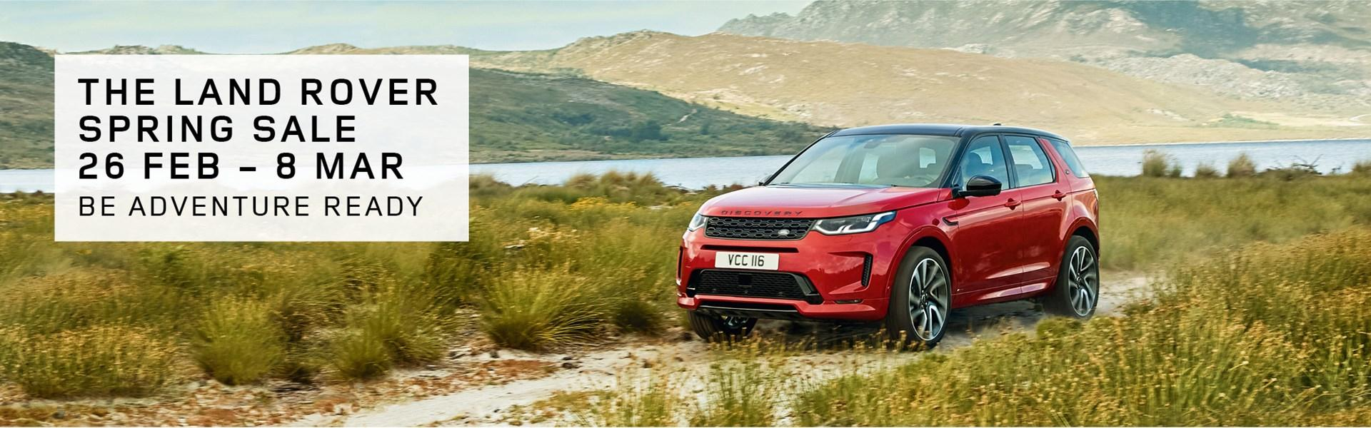 Land Rover Spring Sale