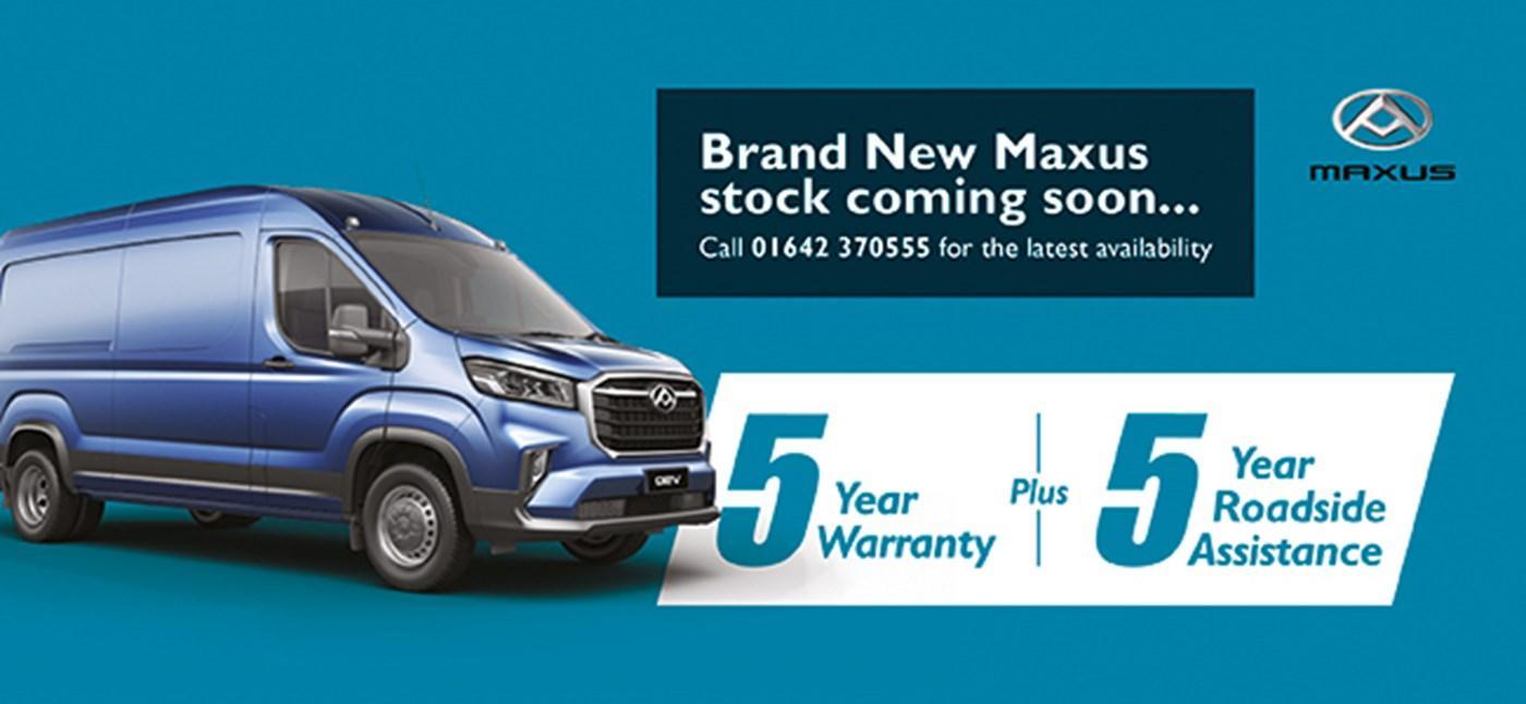 Brand New Maxus, stock coming soon...