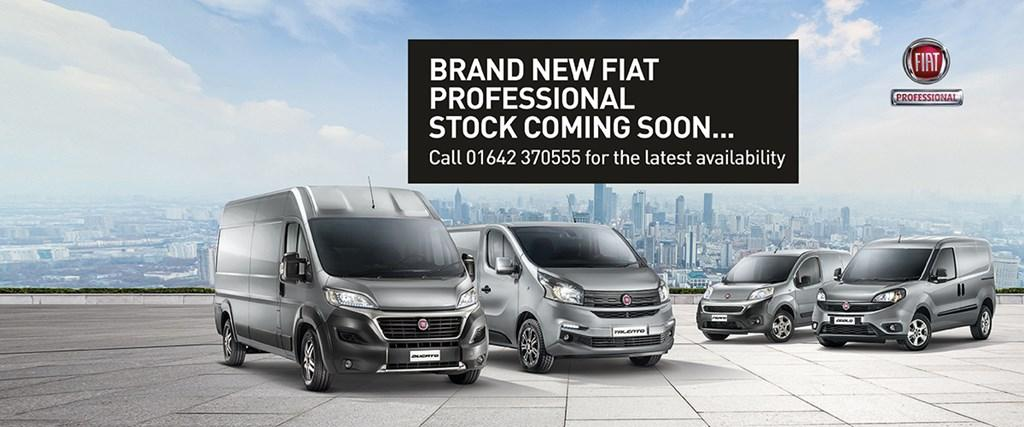 Brand New Fiat Professional Stock Coming Soon...