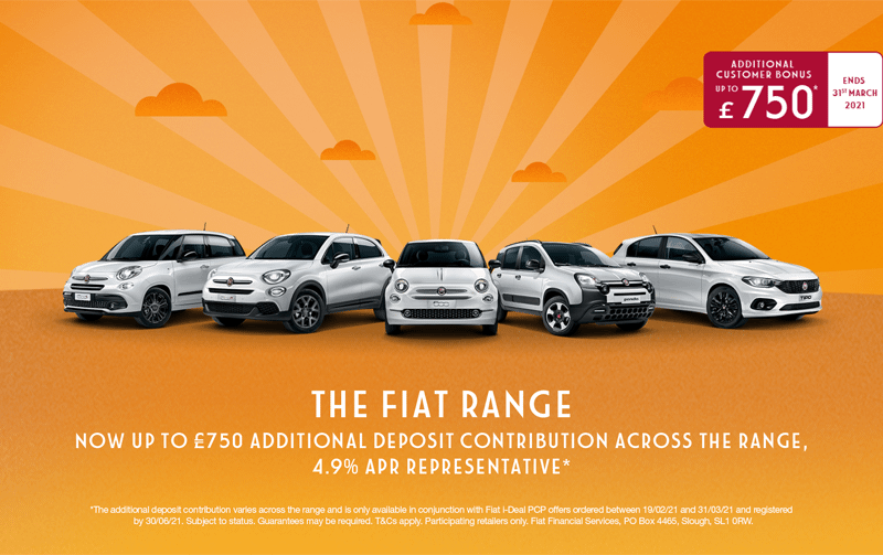 Exciting offers on the Fiat Family!