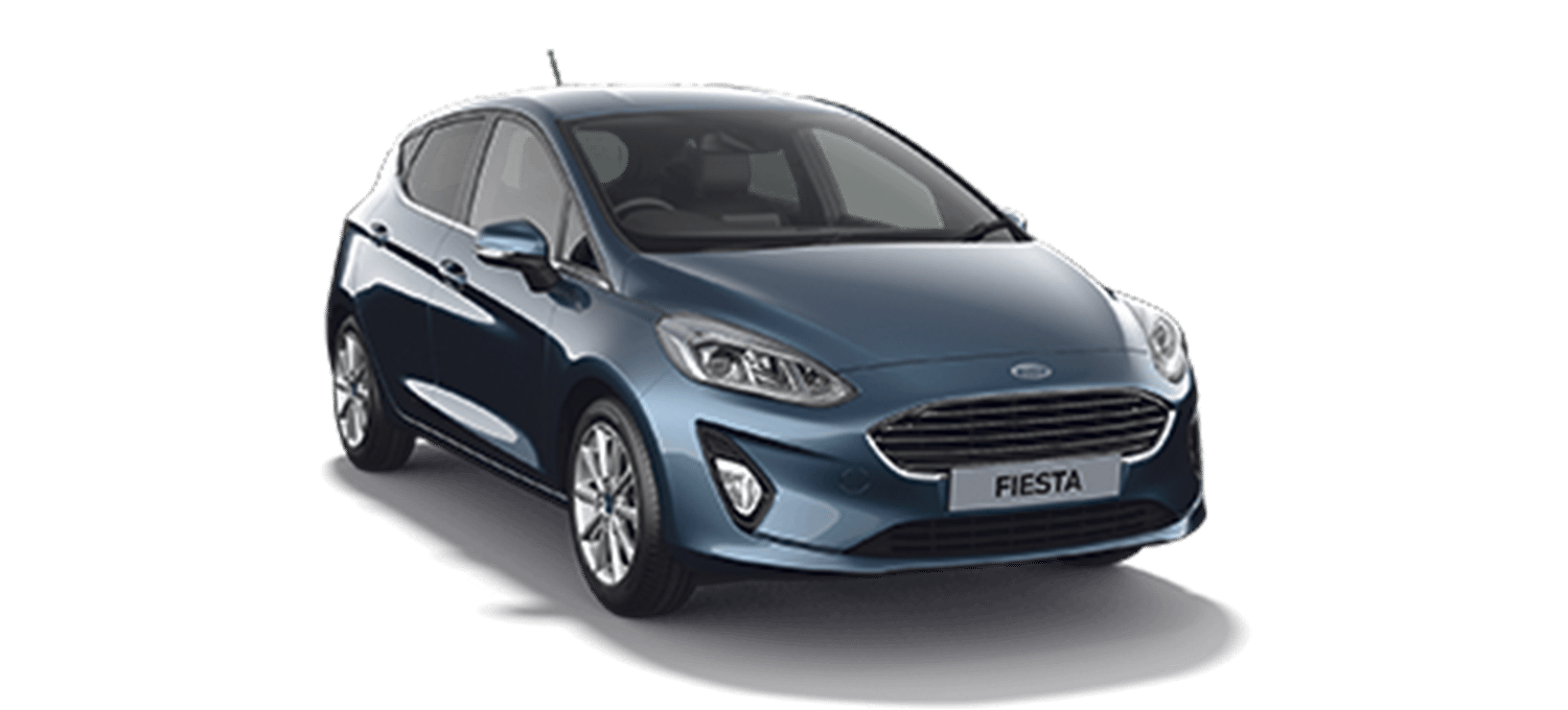 Ford Fiesta Titanium 5DR Chrome Blue