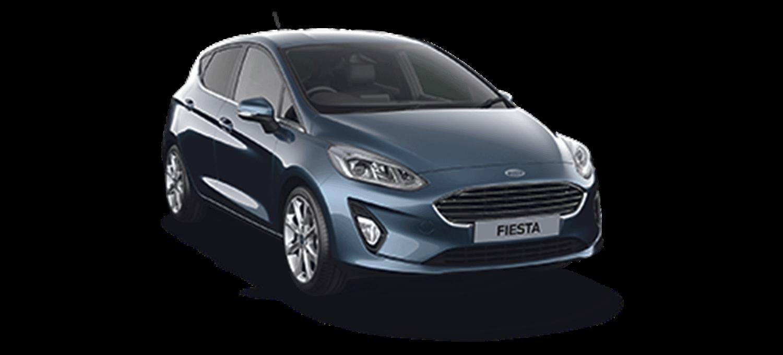 Ford Fiesta Titanium X 5DR Chrome Blue