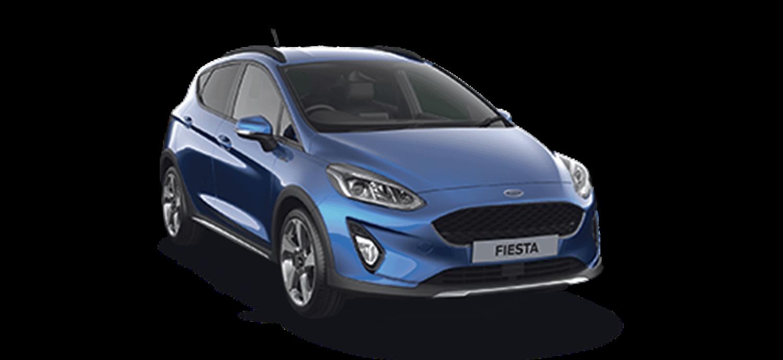 Ford Fiesta Active Deep Impact Blue