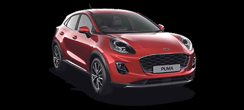 Ford Puma Titanium Lucid Red