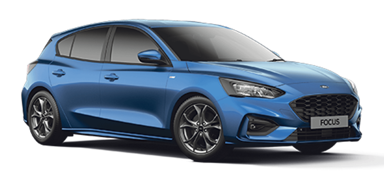 Ford Focus ST-Line Desert Island Blue