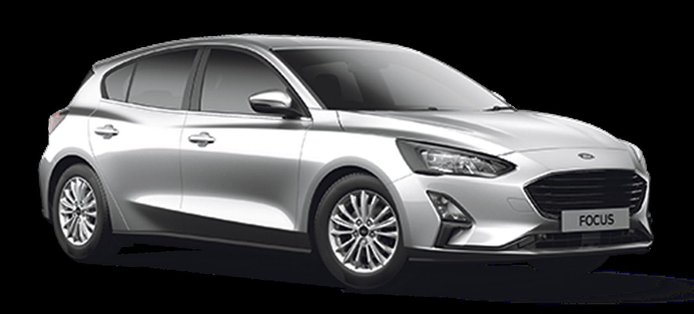 Ford Focus Titanium Moondust Silver