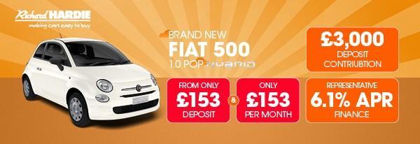Brand New Fiat 500 1.0 Pop Mild Hybrid