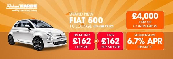 Brand New Fiat 500 1.2 Lounge