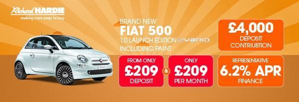 Brand New Fiat 500 1.0 Launch Edition Mild Hybrid