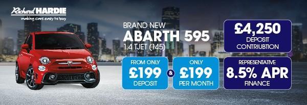 Brand New Abarth 595