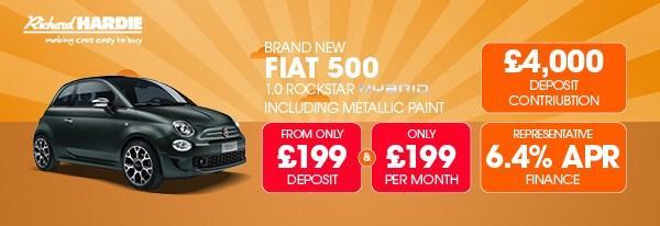 Brand New Fiat 500 1.0 Rockstar